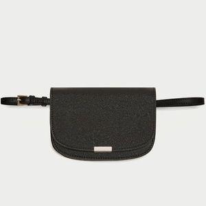 NWOT Zara Crossbody Belt Bag